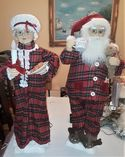Mr. and Mrs.Claus Animated
