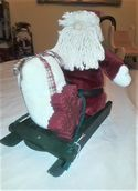 Santa Plush On Sled