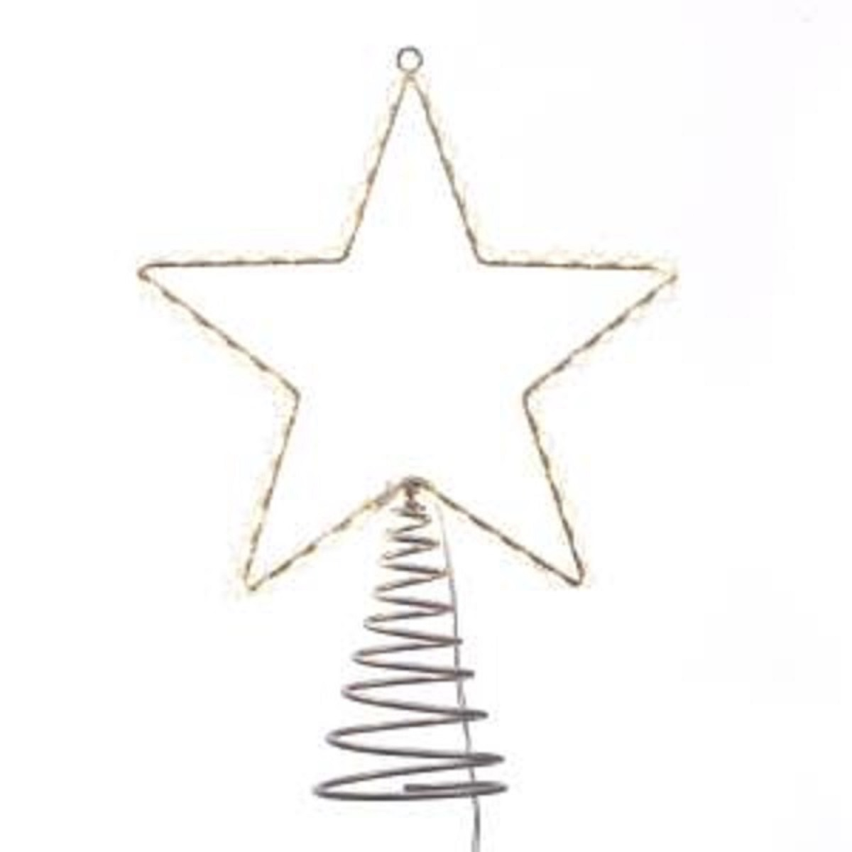 Star Tree Topper Lighted