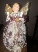 Vintage Lighted Angel