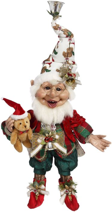 Mark Roberts Teddy Bear Elf. Medium