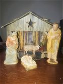 Vintage German Nativity