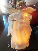 Porcelain Angel Tree Topper