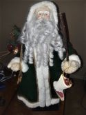 Santa Forest Vintage With Cane